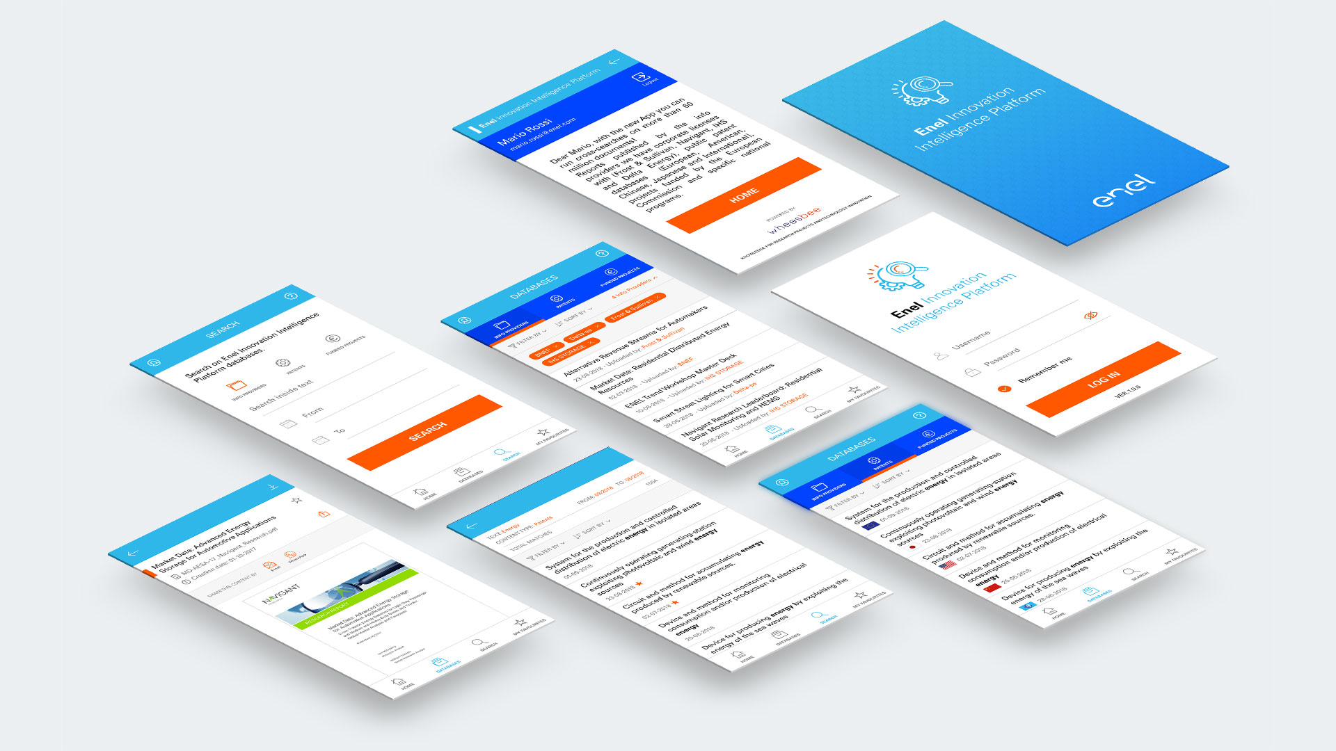 Enel Innovation Intelligence Platform App