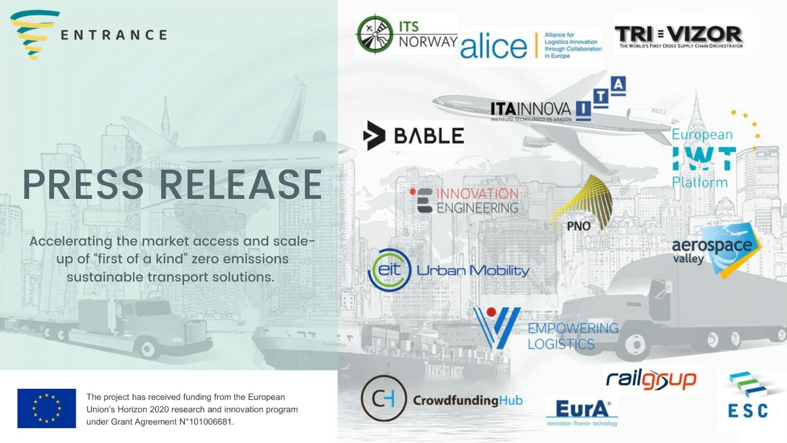 Launch of ENTRANCE H2020 project